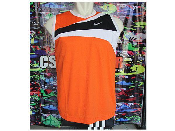 Kaos Singlet Nike Orange Rp 35.000
