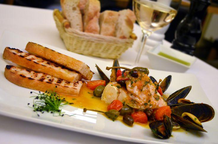 Restaurant Bresto - new menu 2017 - FILLET OF COD