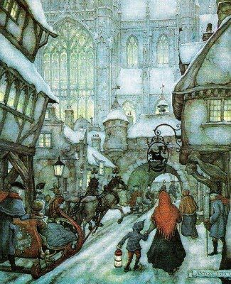 Anton Pieck, one of my favorite Dutch artists