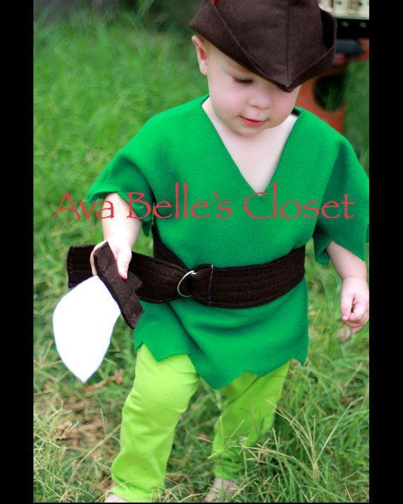 Garçons Costume de Peter Pan par AvaBellesCloset sur Etsy