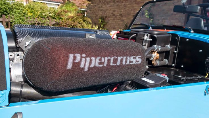 Pipercross Filter on a Caterham R500.