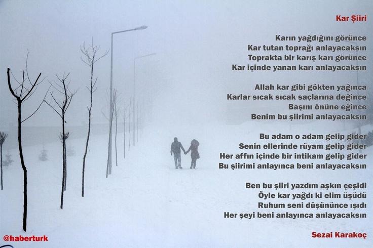 Kar, Sezai Karakoç