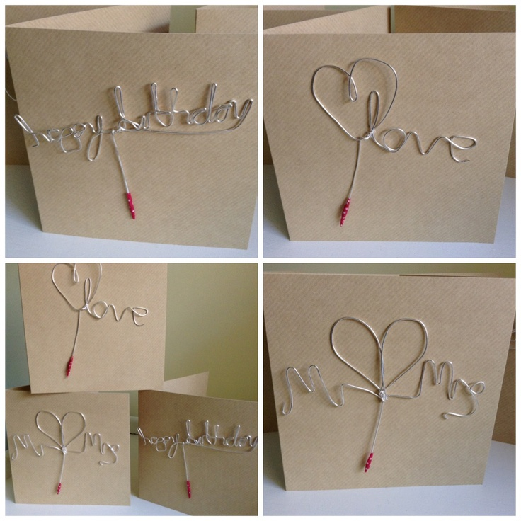 Cake topper cards