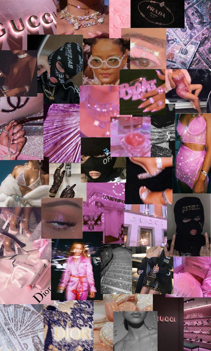 Pink And Black Baddie Aesthetic Iphone Wallpaper Iphone Wallpaper Iphone Wallpaper Ios Aesthetic Iphone Wallpaper