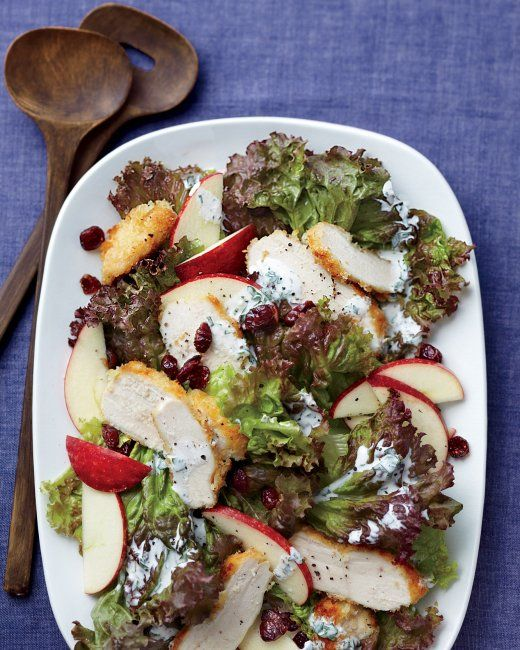 Crispy Chicken and Apple Salad   Recipe