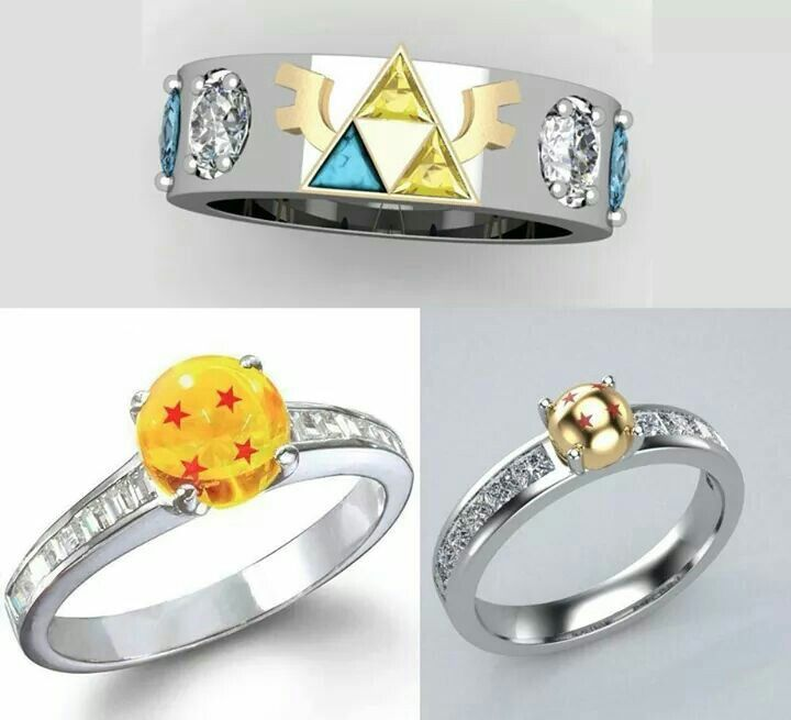 Triforce Ring From Legend Of Zelda Dragon Ball Z Rings I Love It