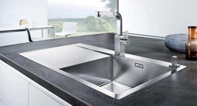 Image result for køkkenvask i stål til underlimet