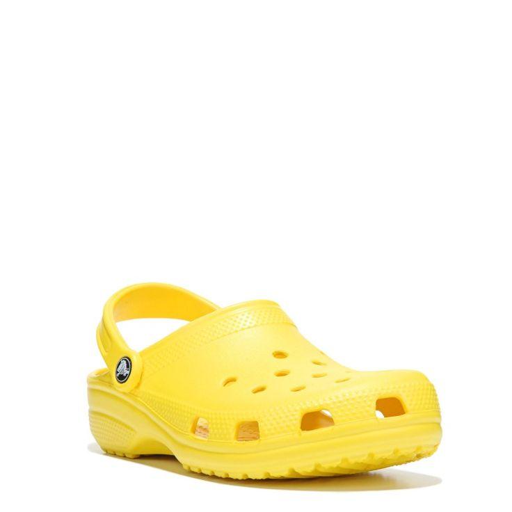 Crocs Women's Classic Clog Shoes (Yellow) - 10.0 M