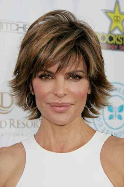 "Lisa Rinna Date of Birth: July 11, 1963 Related Slideshows Short Celebrity Hairstyles for Women Over 40 When many think of the word ""glamorous"" they think long, cascading tresses that take hours to..."
