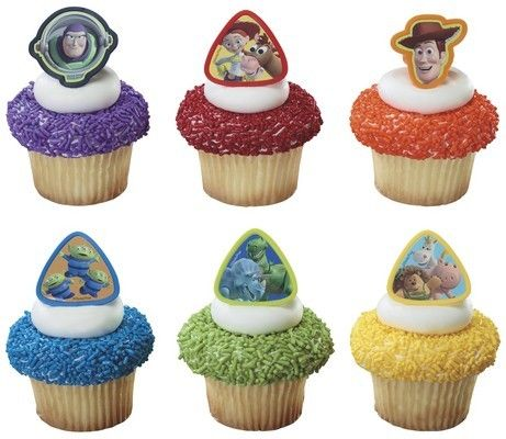 Toy Story Cupcake Rings