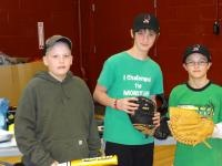 The Babe Ruth league in Ludlow, Vermont, which lost all of their equipment due to the damaging effects of Hurricane Irene, receives donations from Pitch In For Baseball, The Major League Baseball Players Trust, and the Minnesota Twins Community Fund.