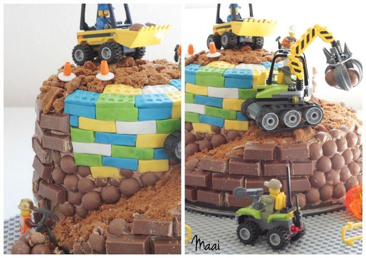 legotaart, lego verjaardagstaart, kitkat taart, birthday cake, verjaardagstaart jongen