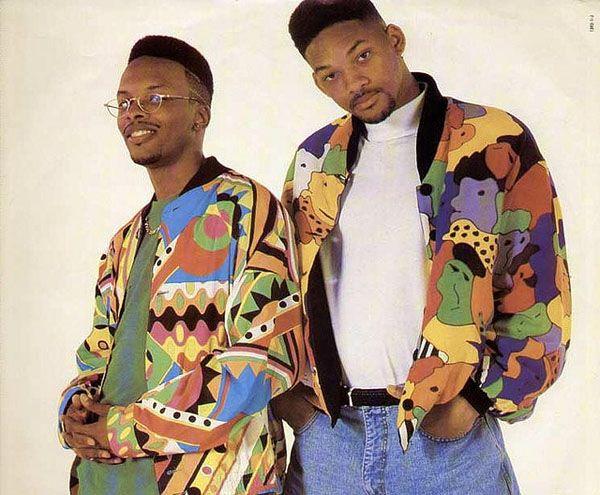 Superb Fresh Prince u Jazzy Jeff in eye catching bomber jackets