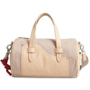 Women's Ed Ellen Degeneres Mini Carml Leather & Canvas Barrel Bag