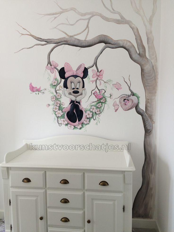 17 best images about decoratie meisjeskamer on pinterest disney babies and met - Deco muurschildering ...
