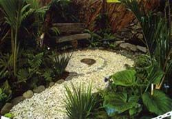 NZ garden design | NZ Top Garden and Landscape Designer by Award Winning Ben Hoyle. Blue ...