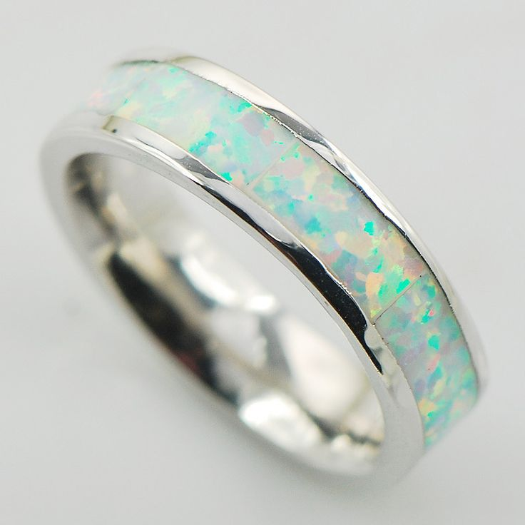 White Fire Opal Women 925 Sterling Silver Ring A27 Size 6 7 8 9 10 www.bernysjewels.com #bernysjewels #jewels #jewelry #nice #bags