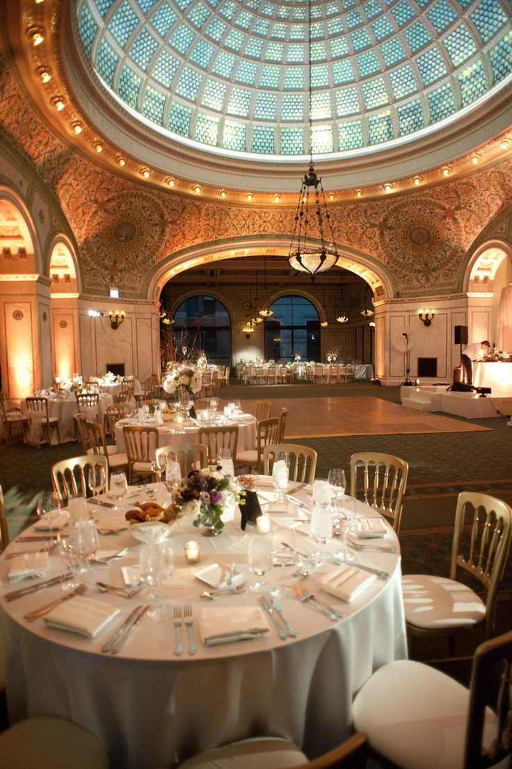 Chicago Cultural Center Wedding by Studio Starling  Read more - http://www.stylemepretty.com/illinois-weddings/2012/08/10/chicago-cultural-center-wedding-by-studio-starling/