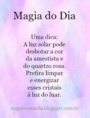 Magia no Dia a Dia: Magia do Dia: Ametista & Quartzo Rosa