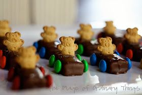 The Magic of Ordinary Things: TEDDY BEAR RACE CARS
