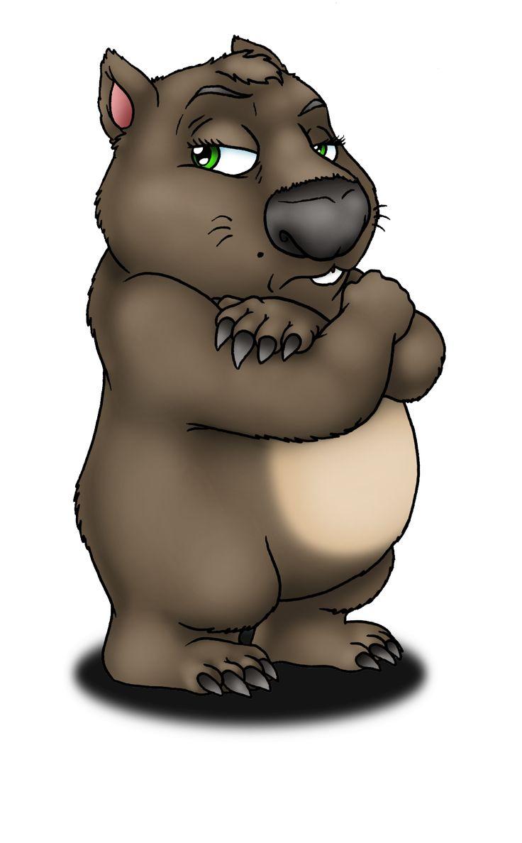 """""""cartoon wombat""""的图片搜索结果"""