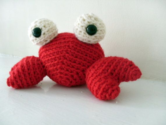 Crochet Amigurumi Crab : 17 Best images about things to sell on Pinterest Sewing ...