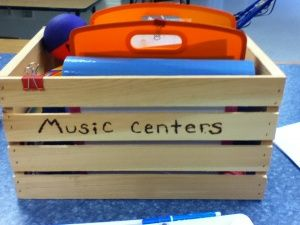 Suggestions on how to build a kit for elementary music classroom centers.