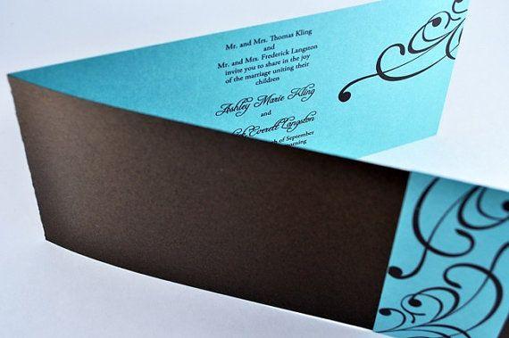 Tiffany Blue Wedding Invitations Kits: 34 Best TIFFANY BLUE Wedding Invitations Images On