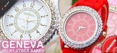 Pořiďte si luxusní hodinky s krystaly. Na výběr z velké škály barev