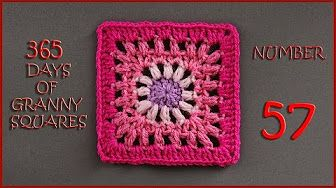 365 Days of Granny Squares Number 55 - YouTube