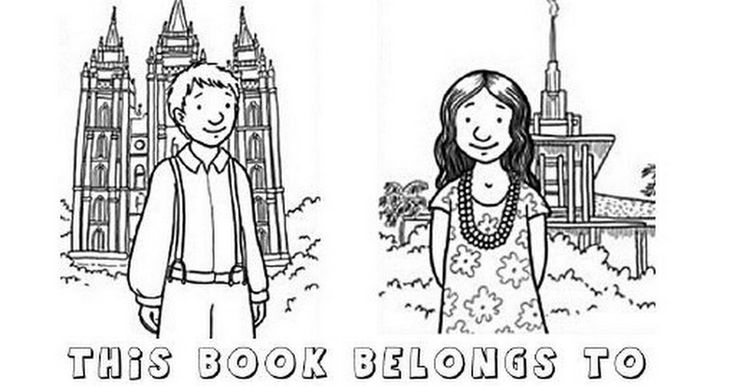 Lds Coloring Pages Pdf : Best coloring pages images on pinterest colouring in