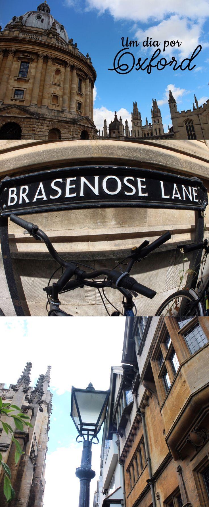Oxford, uma das cidades mais emblemáticas da Inglaterra!