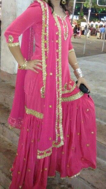 Garara: Muslims traditional dress  Created by my friend - @saba18khan :D