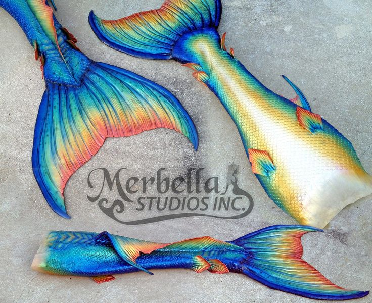 Blended waist | Mermaid Tail Collection
