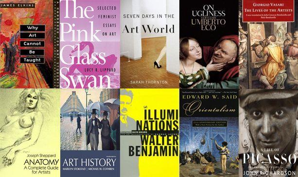 The ARTINFO Bookshelf: 40 Books That Every Artist Should Own, Part I