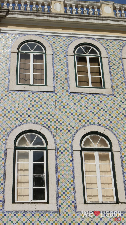Lapa neighbourhood in Lisbon