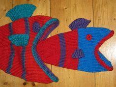 zephyrama knits: newborn dead fish hat