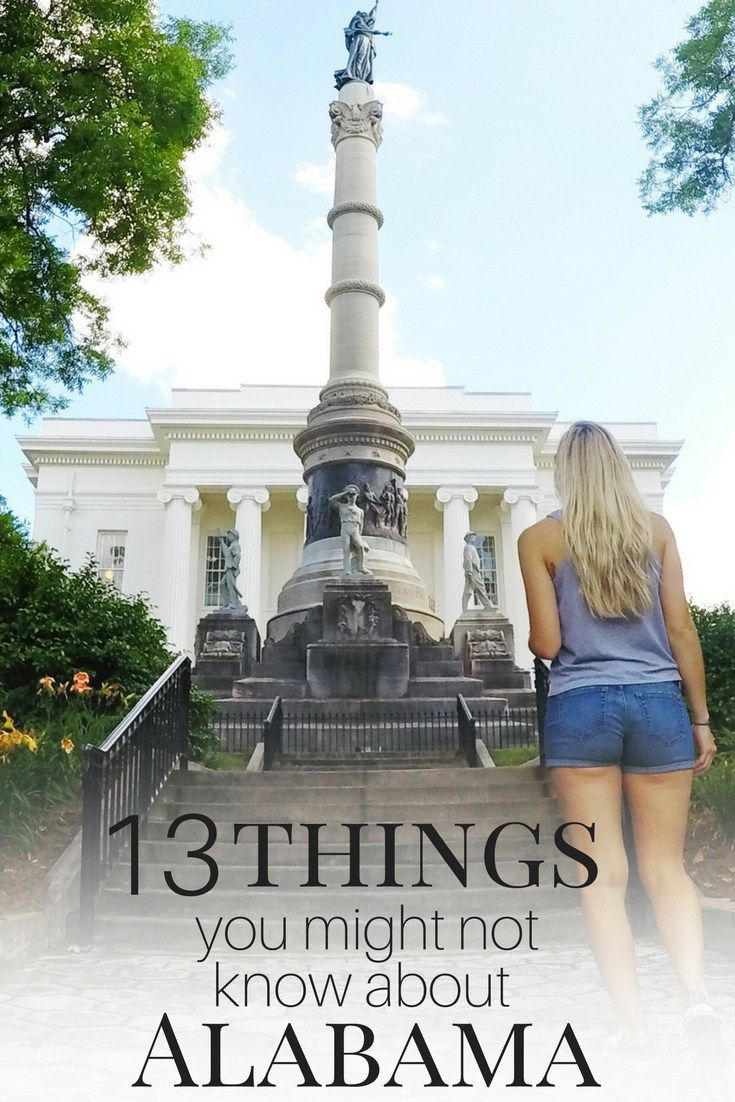 """Lovingly nicknamed """"The Heart of Dixie"""", Sweet Home Alabama is a real Southern gem. I learned a lot about the people, the culture, and the food while living there. Some of it really surprised me! Here are 13 things you might not know about Alabama."""