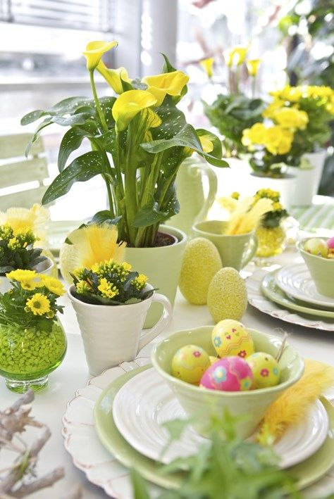 Påsk i växternas tecken | Blomsterlandet.se. Easter Table SettingsTable MannersEaster FlowersTable DesignsParty TablesTable DecorationsScandinavian ... & 214 best Easter Table Decoration Ideas images on Pinterest | Easter ...