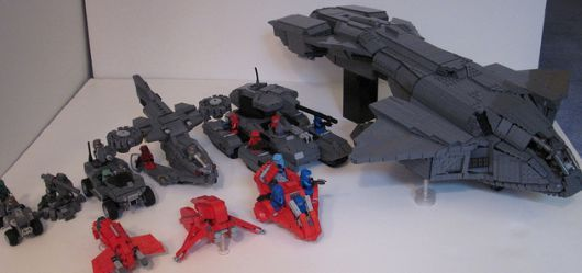 Homemade Halo LEGO Vechicles #lego #halo