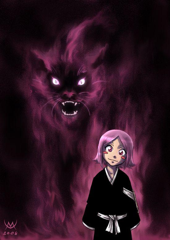 Kusajishi Yachiru by *maxarkes on deviantART. So creepy but true! Yachiru is my favorite from Bleach
