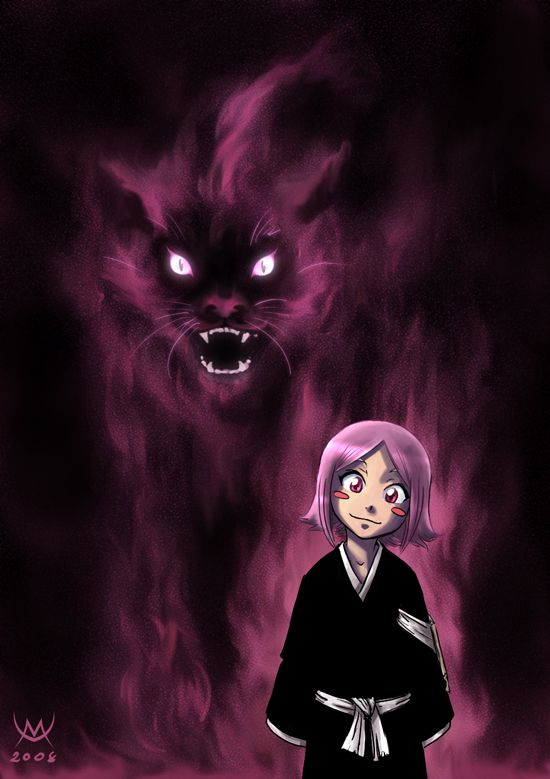 Kusajishi Yachiru by *maxarkes on deviantART. So creepy but true! Yachiru is my favorite from Bleach