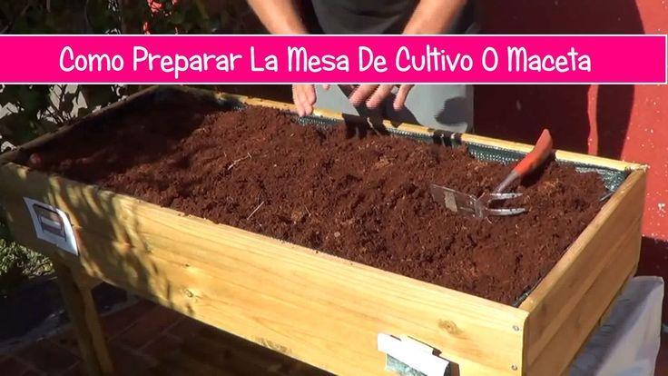 Como Preparar La Mesa De Cultivo Para El Huerto Urbano - Ecocosas