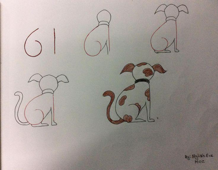 Enseña a los más peques a dibujar a partir de números y letras