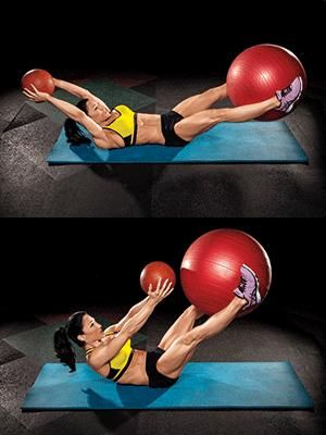 The secret to great abs.