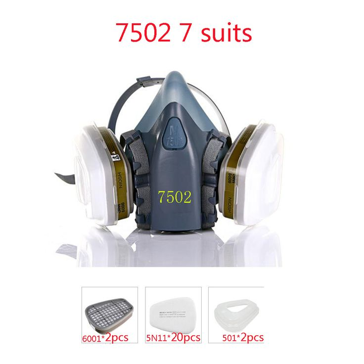 $31.24 (Buy here: https://alitems.com/g/1e8d114494ebda23ff8b16525dc3e8/?i=5&ulp=https%3A%2F%2Fwww.aliexpress.com%2Fitem%2F7502-7Piece-Suits-Respirator-Painting-Spraying-Face-Gas-Mask-20-Pcs-Filter-Cottons-Half-face-Mask%2F32697800355.html ) Industrial safety 7502 7Suits Respirator Gas Mask Chemical Mask Spray Chemical Dust Filter Breathe Mask Paint Dust Half Gas Mask for just $31.24
