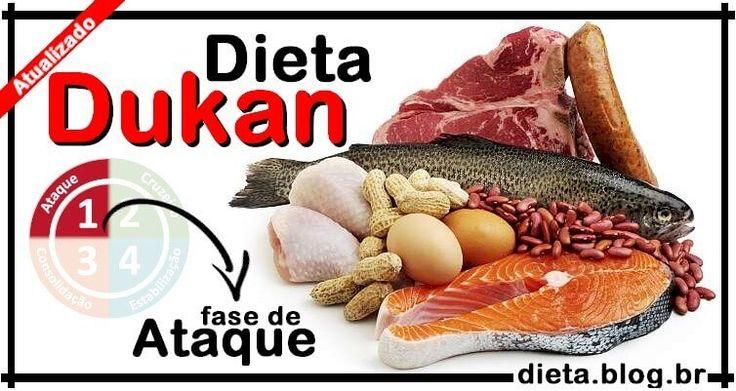 Dieta Dukan: Alimentos Permitidos para a Fase Ataque: Comece Hoje a Dieta Dukan e inicie a Semana com a Consciência Leve! Guia Dieta Blog