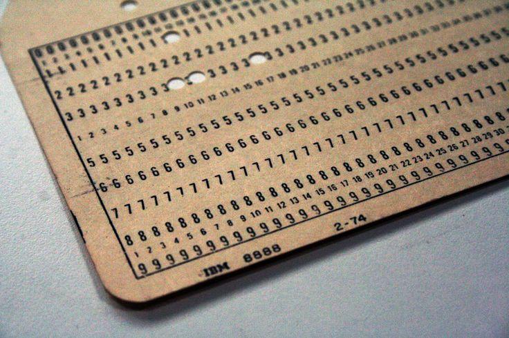 Cartão Perfurado