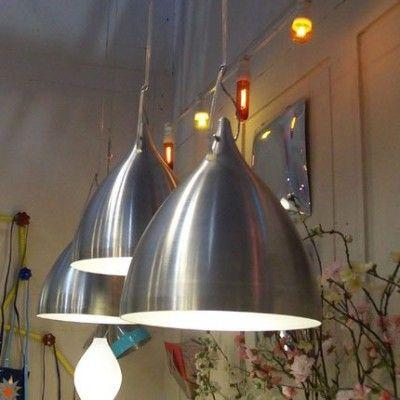 Grande Lampe Cornette Suspendue Aluminium - Lili's