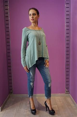 La Bella Donna - Μπλουζα Γυναικεια Μακρυμανικη Βεραμαν